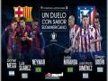 مسابقه برگشت بارسلونا و اتلتیکو مادرید (۳-۲)| کوپا دل ری