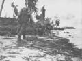 نبرد دوم گوام ، جزیره باران و خون