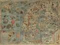 نقشه شگفت انگیز و جالب دریای هیولا ها