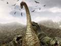 دایناسور گرفتار شده در کهربا