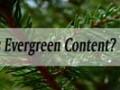 نقش و اثر محتوای همیشهسبز بر بازاریابی محتوا و سئو چیست ؟ Evergreen Content